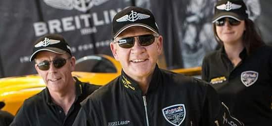 Team Nigel Lamb wearing Bigatmo sunglasses
