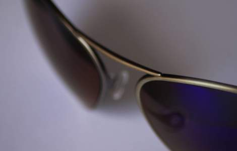 Titanium frame of Bigatmo sunglasses