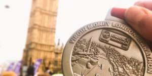 London Marathon Medal 2015