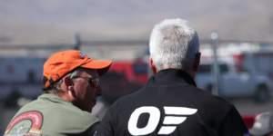 Man Wearing Bigatmo poloshirt at airrace