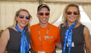 Mike wearing Strato 0150 alongside Sarah and Louise, both wearing Tropo