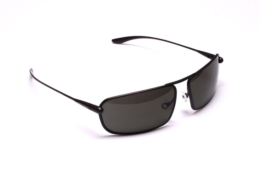 Meso - Graphite Titanium Frame Grey Polarized Sunglasses