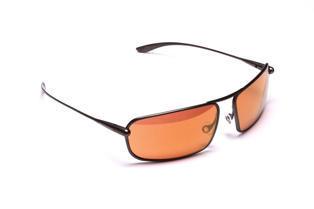 Meso - Gunmetal Titanium Frame Gold Mirror Copper/Brown Photochromic Sunglasses