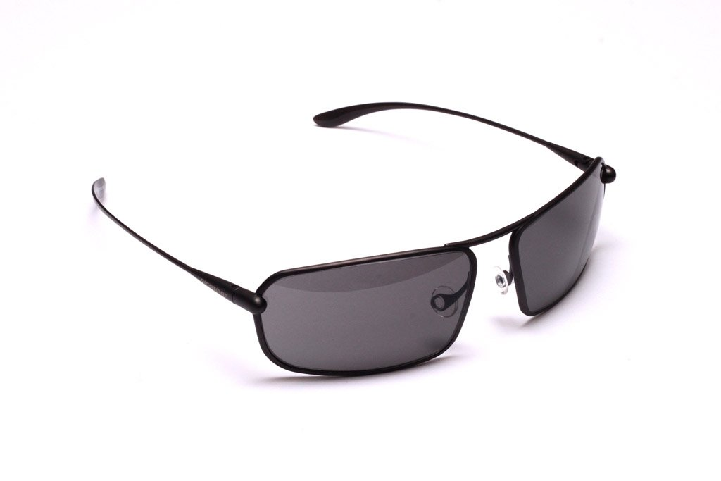 Meso - Graphite Titanium Frame Grey High-Contrast Sunglasses