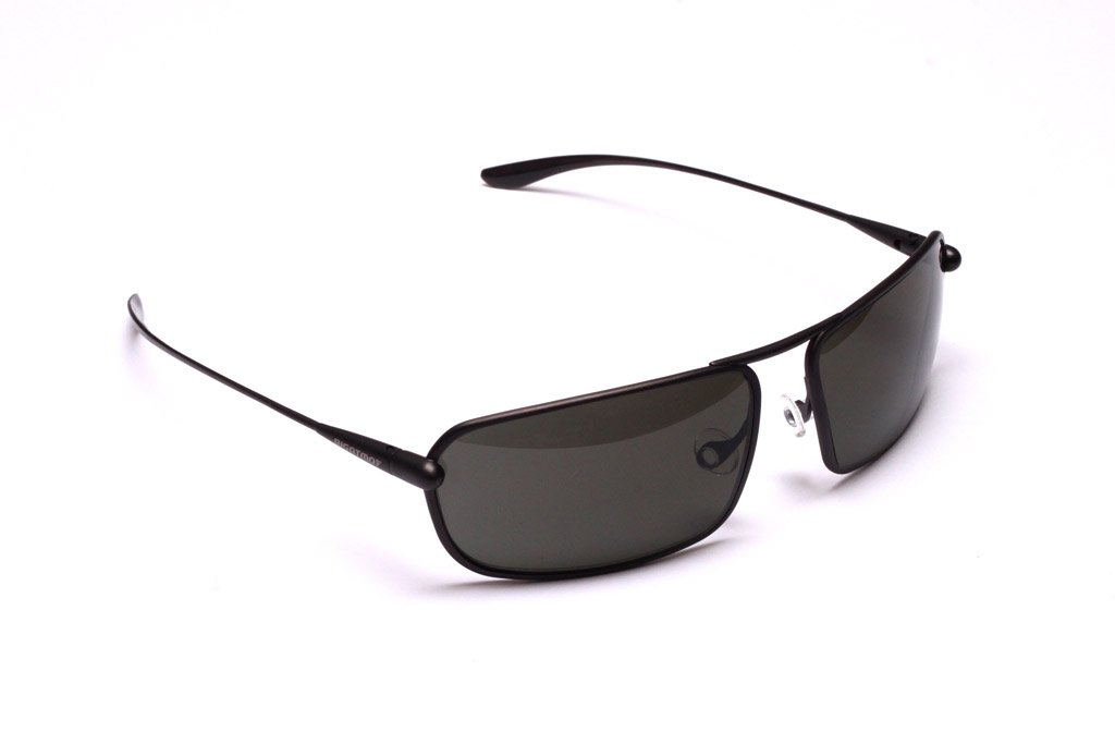 Meso - Graphite Titanium Frame Grey Polarized Sunglasses