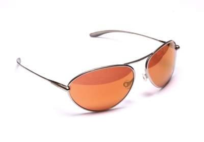 Bigatmo Tropo pilot sunglasses with copper brown photochromic lenses