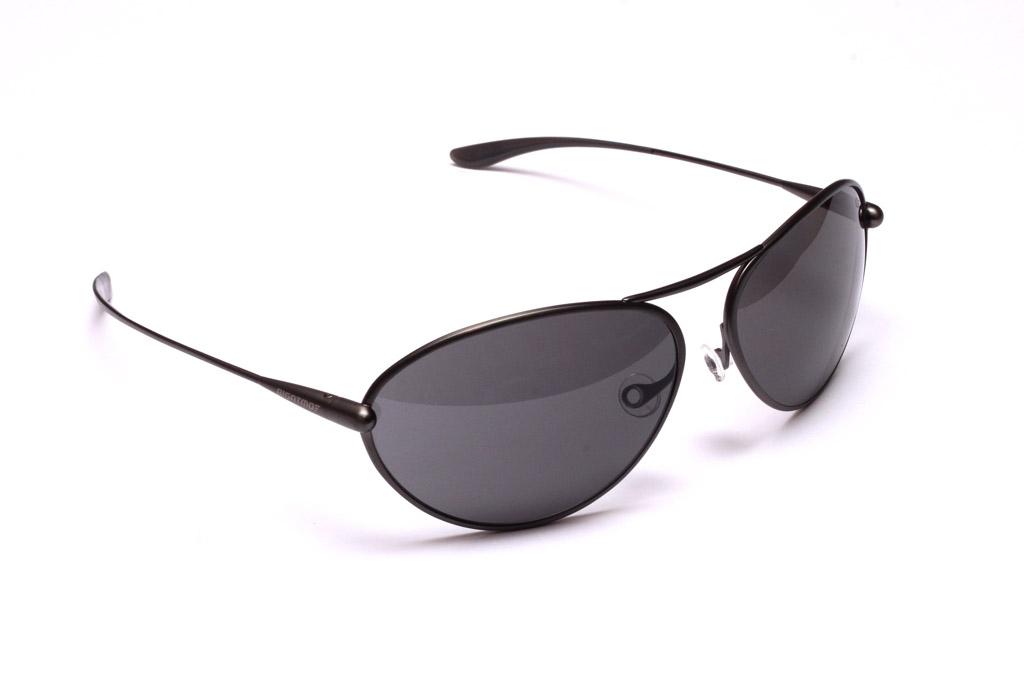 Tropo - Gunmetal Titanium Frame Grey Polarized Sunglasses