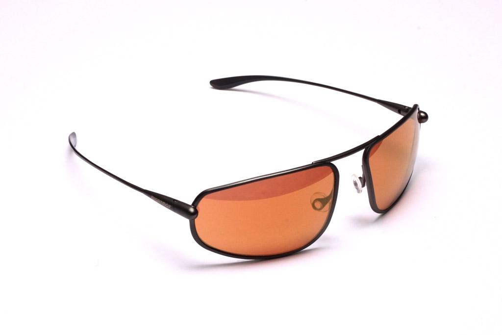Strato - Gunmetal Titanium Frame Gold Mirror Copper/Brown Photochromic Sunglasses