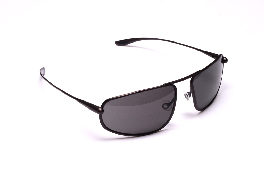 Strato - Graphite Titanium Frame High-Contrast Sunglasses
