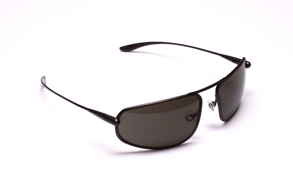 Strato - Graphite Titanium Frame Polarized Sunglasses