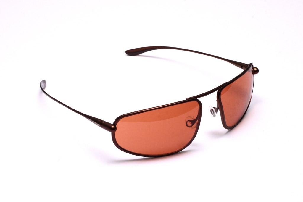Strato - Brunello Titanium Frame Copper/Brown Photochromic Sunglasses