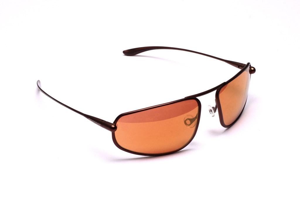 Strato - Brunello Titanium Frame Gold Mirror Copper/Brown Photochromic Sunglasses
