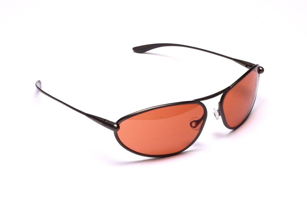 Exo - Gunmetal Titanium Frame Copper/Brown Photochromic Sunglasses