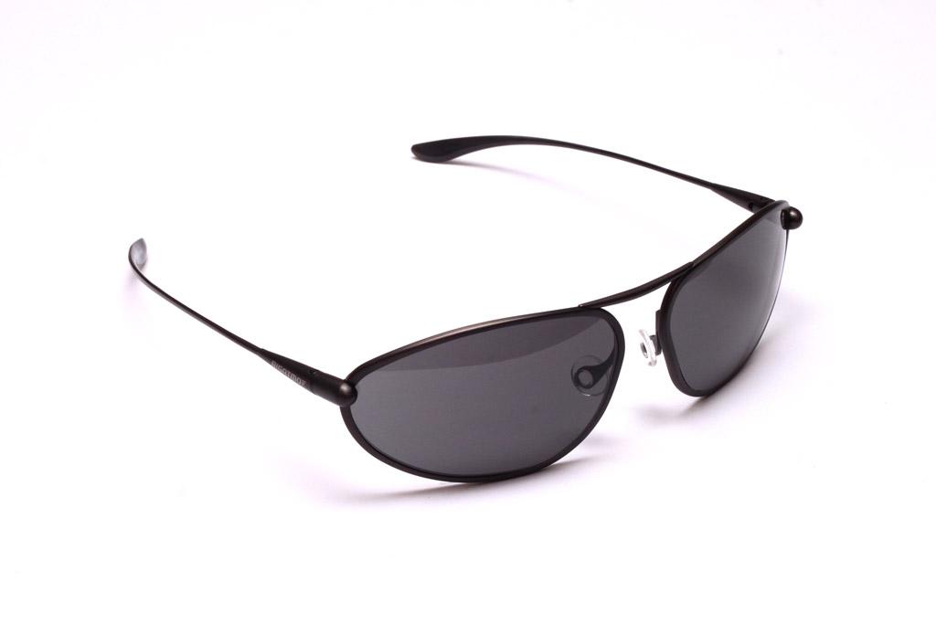 Exo - Graphite Titanium Frame High-Contrast Sunglasses