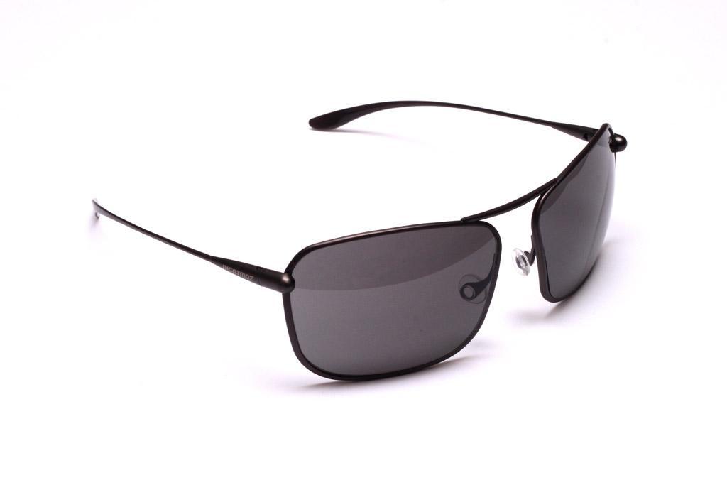 Iono - Graphite Titanium Frame High-Contrast Sunglasses