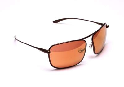 Bigatmo Iono sunglases with Copper Brown Alutra photochromic lenses