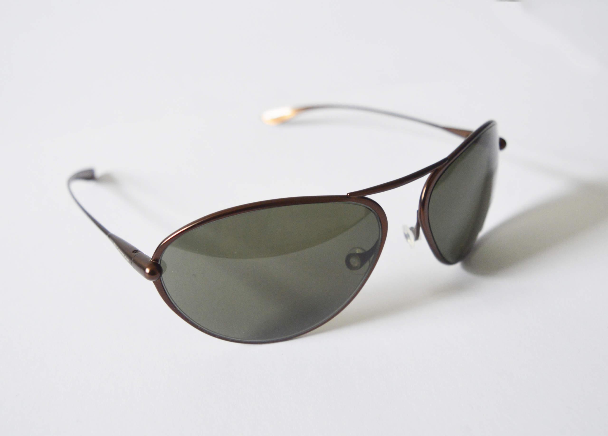 Tropo - Brunello Titanium Frame Polarized Sunglasses