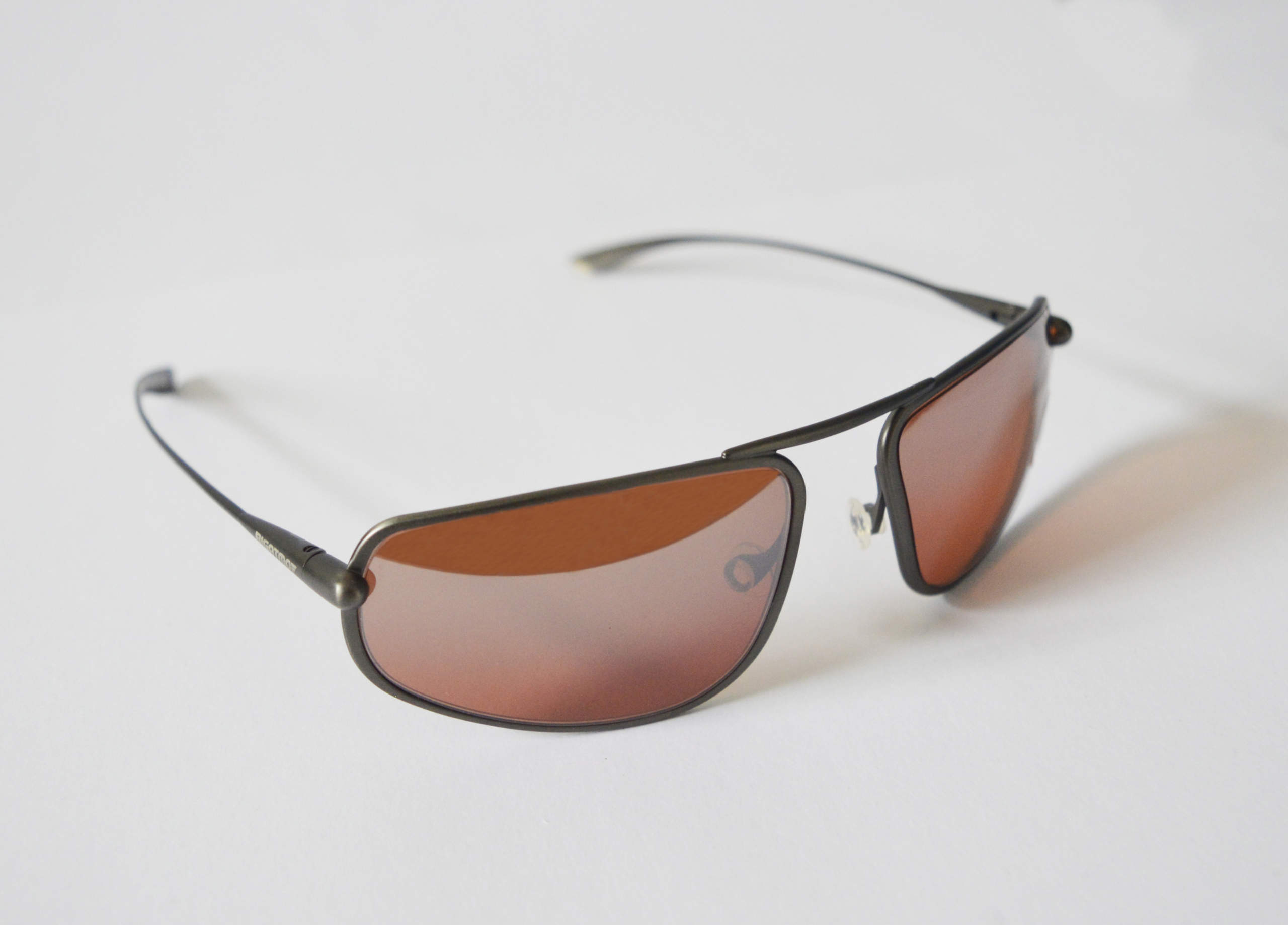 Strato - Gunmetal Titanium Frame Silver Gradient Mirror Copper/Brown Photochromic Sunglasses