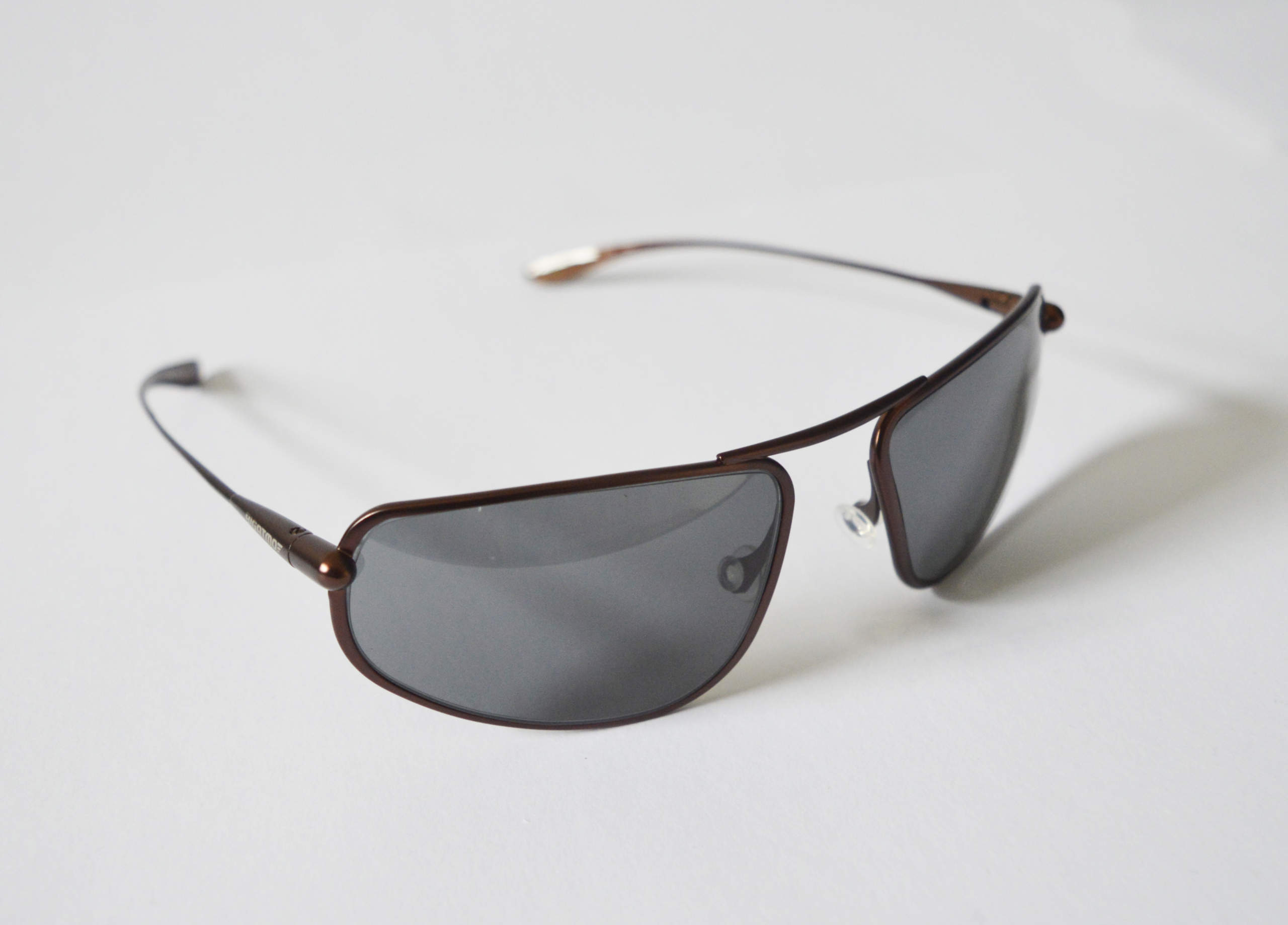 Strato - Brunello Titanium Frame High-Contrast Sunglasses