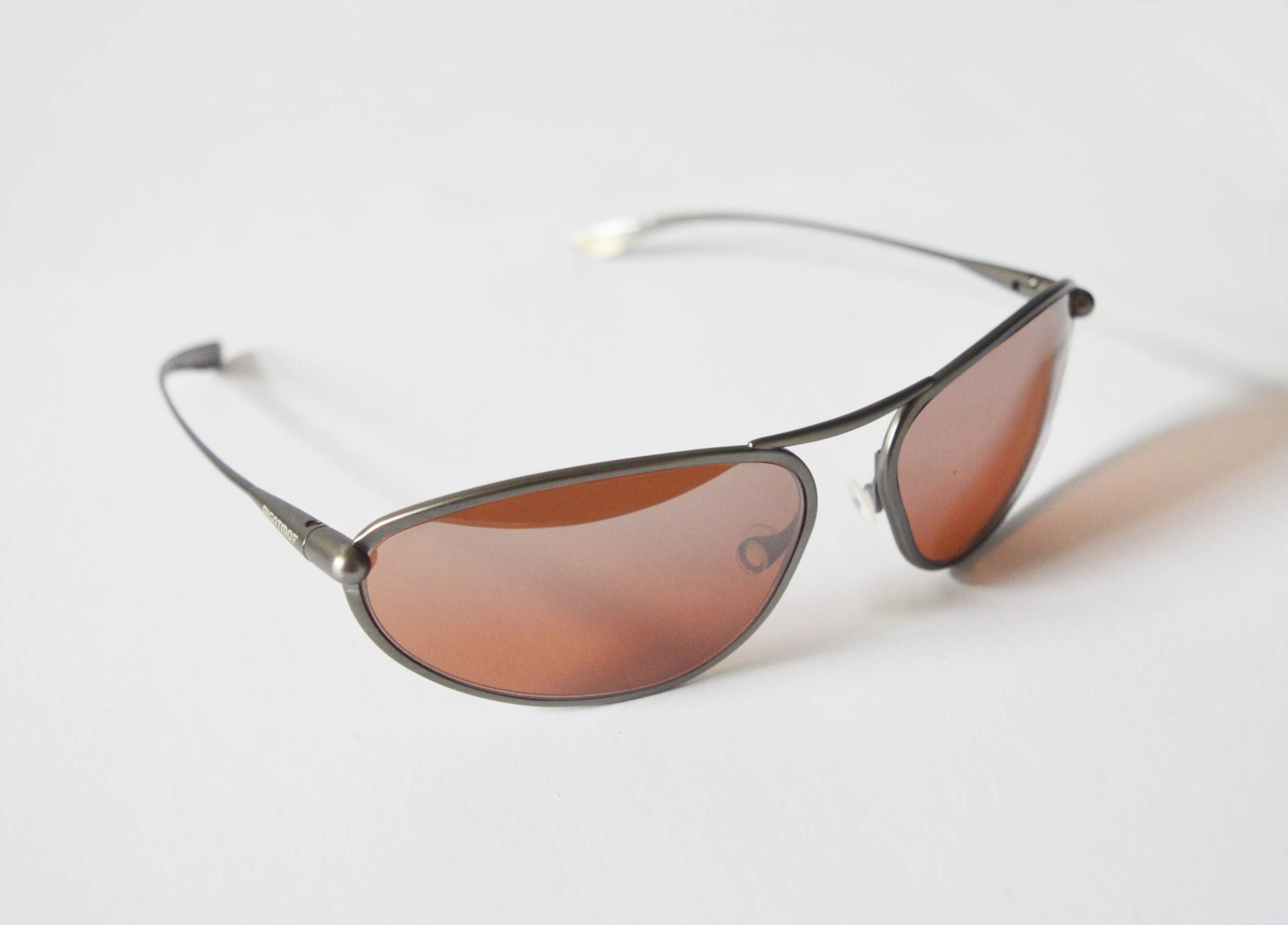 Exo - Gunmetal Titanium Frame Silver Gradient Mirror Photochromic Sunglasses
