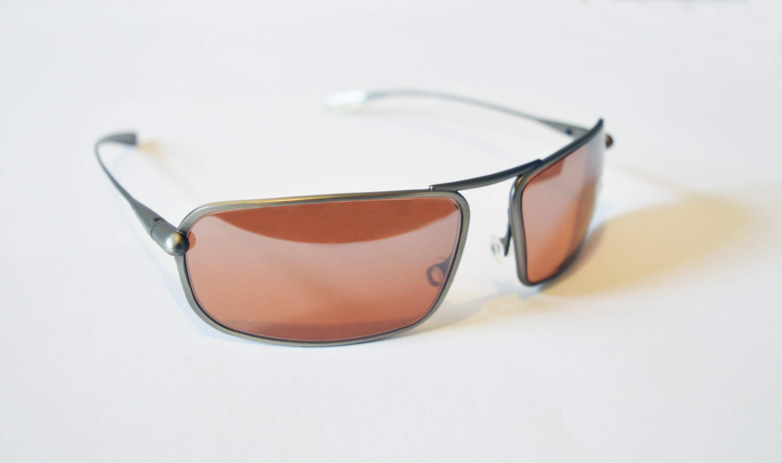 Meso - Natural Titanium Frame Silver Gradient Mirror Photochromic Sunglasses