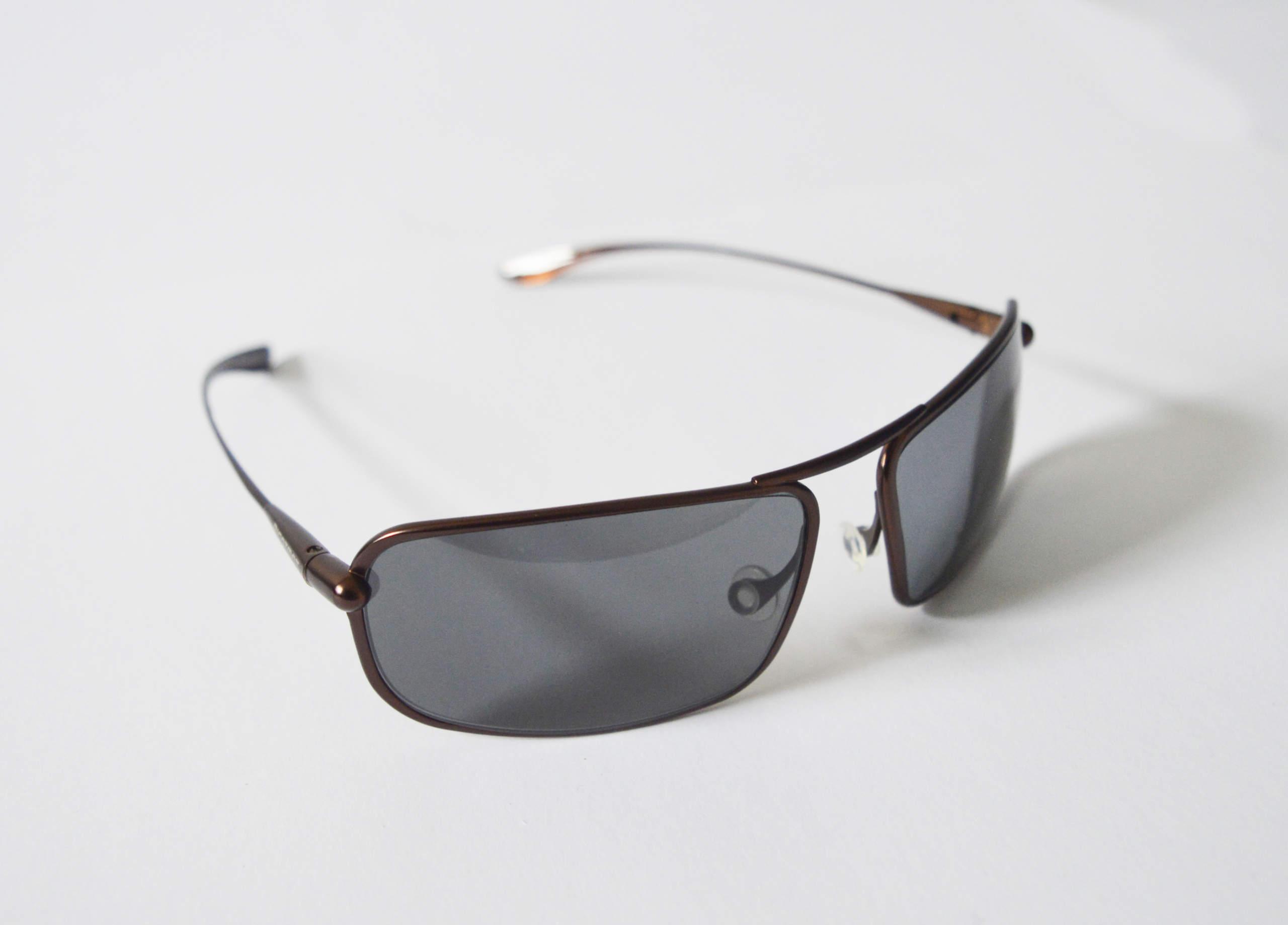 Meso - Brunello Titanium Frame High-Contrast Sunglasses