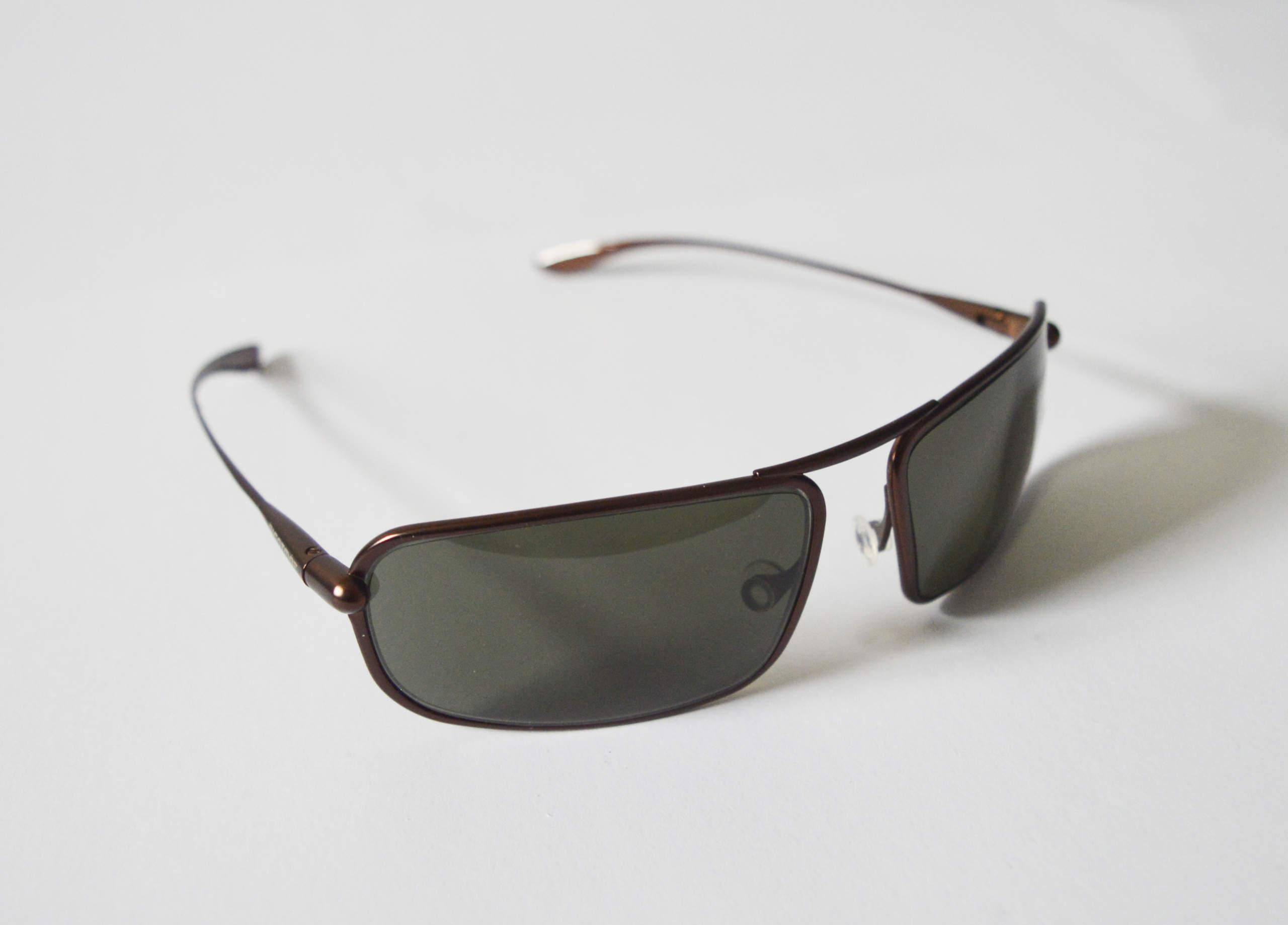 Meso - Brunello Titanium Frame Polarized Sunglasses