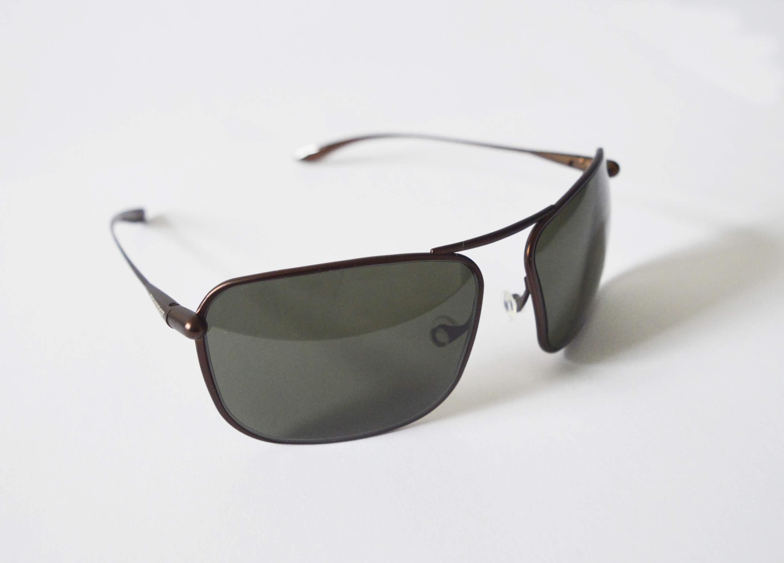 Iono - Brunello Titanium Frame Polarized Sunglasses