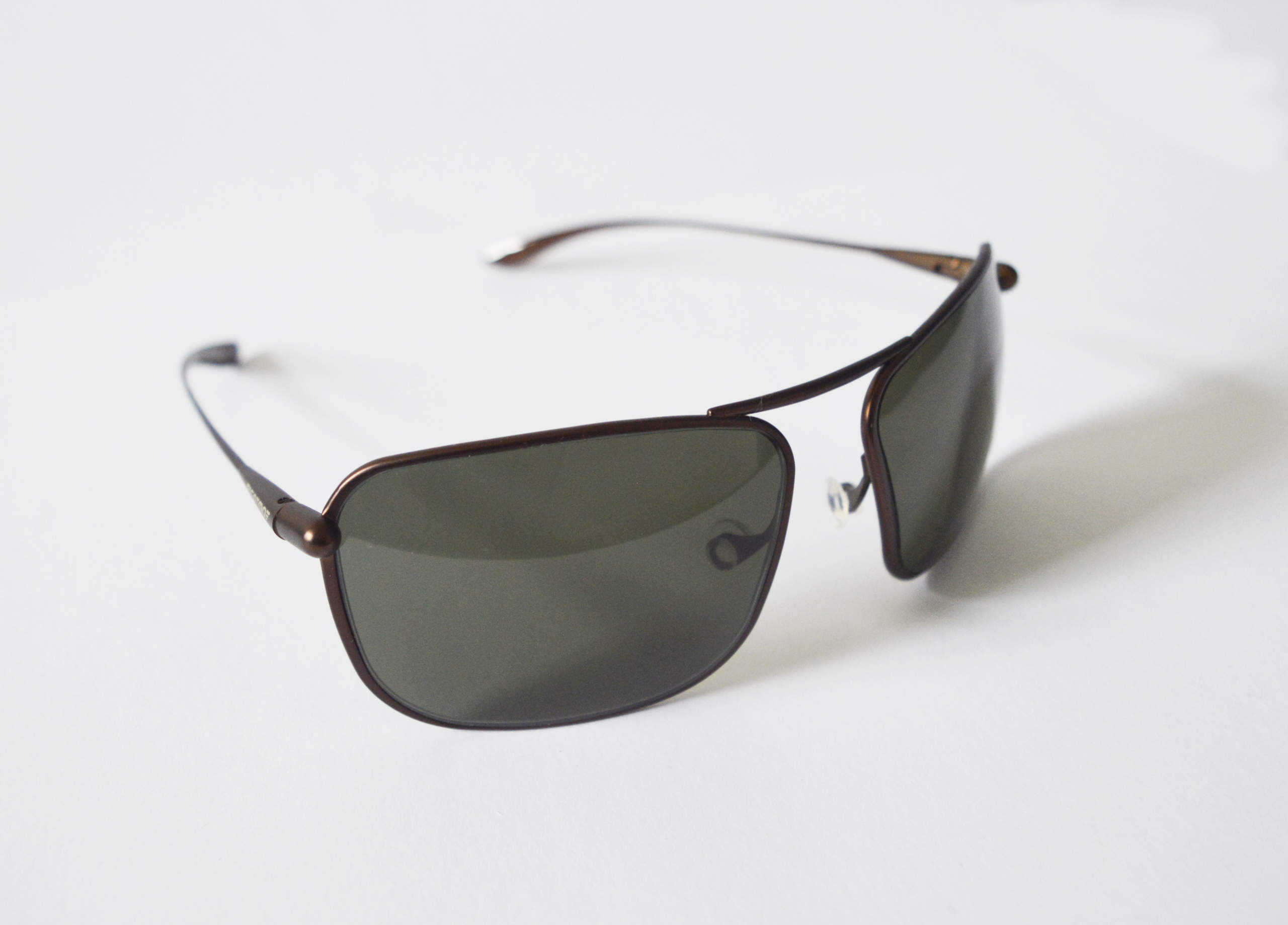 Iono - Brunello Titanium Frame Polarized Sunglasses