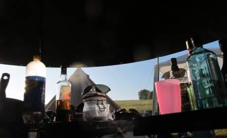 Camping with Bigatmo sunglasses